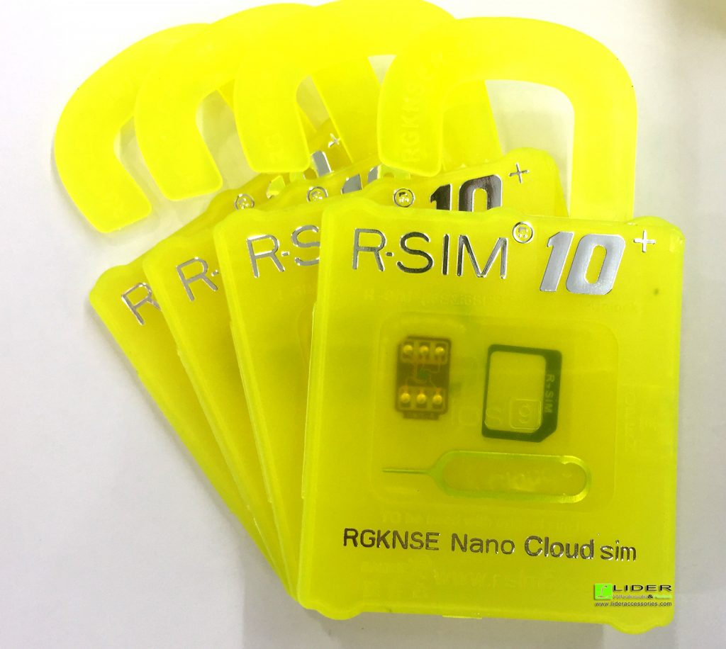 R-SIM 10+ UNLOCK FOR IPHONE 5 TO 6S PLUS