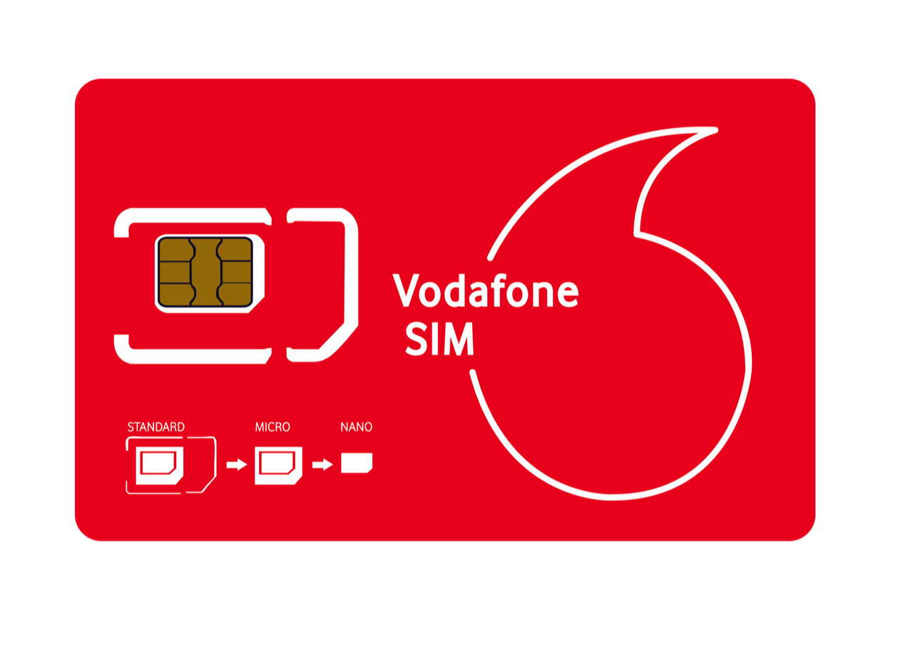 Vodafone uk Sim Card