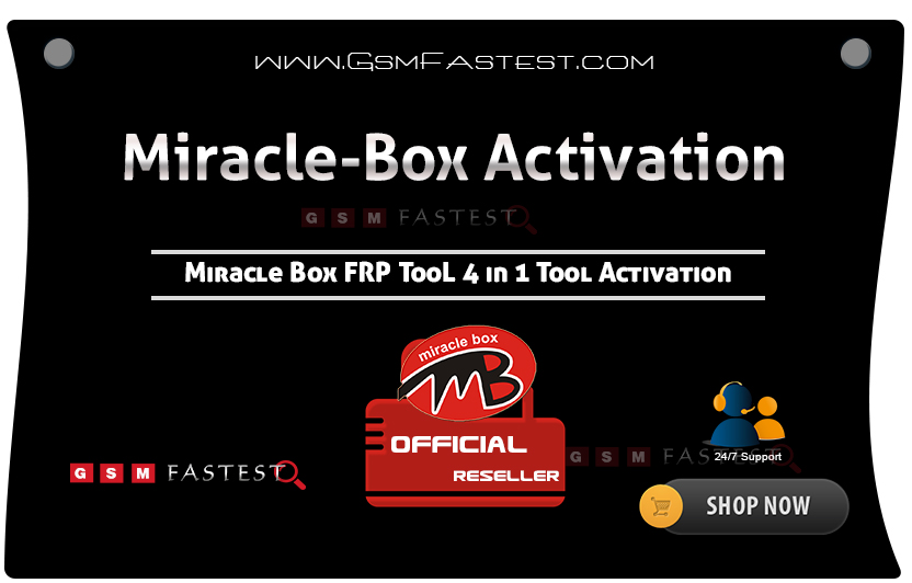 Miracle FRP Tool Activation 4 in 1